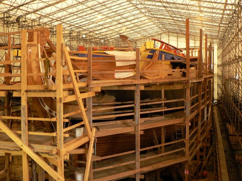 Sortie annuelle rochefort mer chantier de l 39 hermione for Rochefort construction